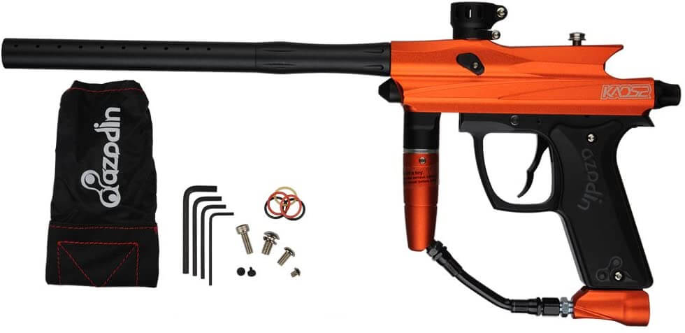 Azodin KAOS 2 Paintball Marker - Orange