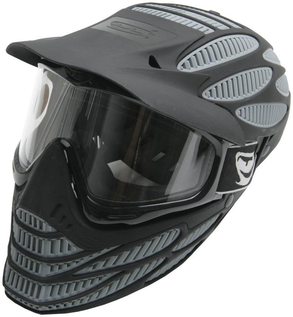 JT Spectra Flex 8 - Black, Paintball Mask