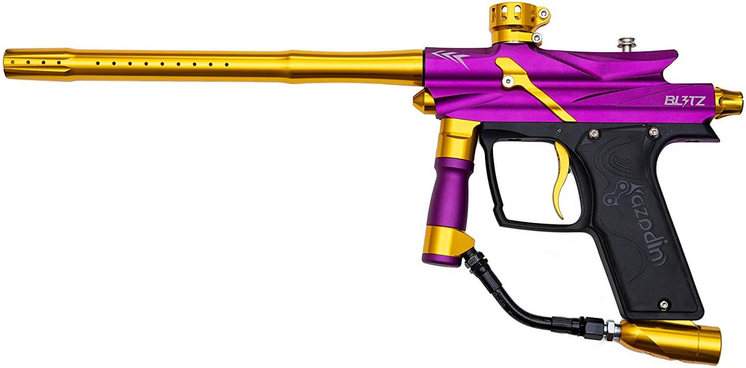 Azodin Blitz 3 - Purple/Gold - Paintball Marker