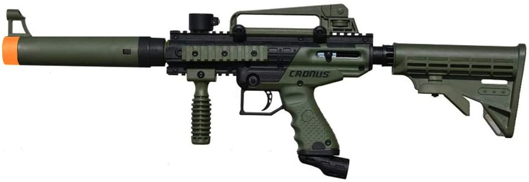 Tippmann Cronus Tactical Marker - The Best Cheap Paintball Gun - Olive